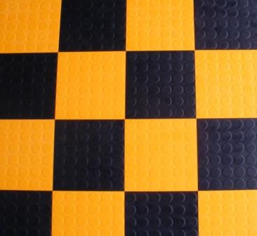 Studded Rubber Tiles And Loose Lay Rubber Flooring